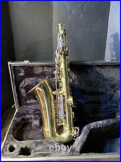 Yamaha YAS23 student alto saxophone sax used with case nice