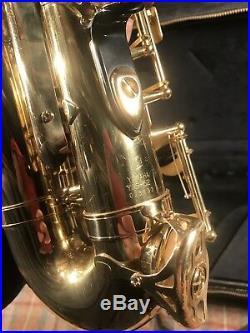 Yamaha YAS52 Alto Sax Saxophone Used With Case Nice Shape