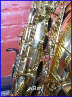 Yamaha YAS575AL Allegro Alto Sax Used with New Case, Free Shipping In U. S