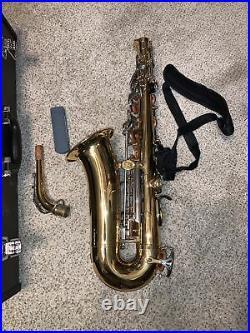Yamaha Yas-26 Alto Saxophone Beautiful Well Cared For Sax