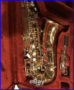Yanagisawa A-9930 Alto Saxophone Sax Solid Silver Gold