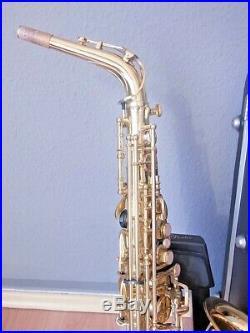 Yanagisawa Alto Sax Alt Saxophon 900 mit SKB Koffer