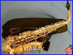 Yanagisawa Alto Sax Saxophone Model 991 Very Good Condition with Case