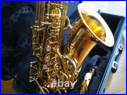 Yanagisawa alto sax A902 used for about 2 years