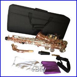 Zest Professional Eb Alto Sax Saxophone Rose Gold with Case & Accessories UK